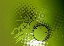 Priorità bassa verde astratta di vettore Fotografia Stock