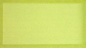 Priorità bassa verde del blocco per grafici del tessuto Fotografia Stock