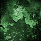 Priorità bassa verde del metallo di Grunge Fotografie Stock Libere da Diritti