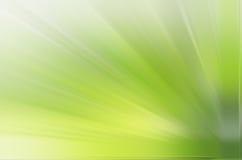 Priorità bassa verde del raggio Fotografia Stock