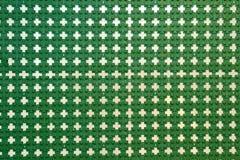 Priorità bassa verde del reticolo Immagini Stock Libere da Diritti