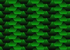 Priorità bassa verde del tetto Fotografie Stock Libere da Diritti