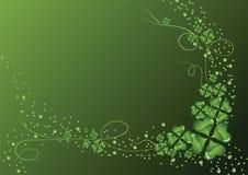 Priorità bassa verde del trifoglio Fotografia Stock Libera da Diritti