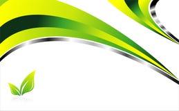 Priorità bassa verde dell'ambiente illustrazione vettoriale