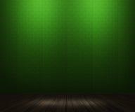 Priorità bassa verde della stanza dell'annata immagine stock libera da diritti