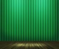 Priorità bassa verde della stanza dell'annata immagini stock