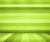 Priorità bassa verde della stanza delle schede di legno royalty illustrazione gratis