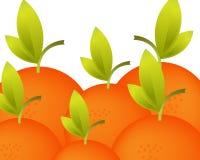 Priorità bassa verde delle mele illustrazione vettoriale