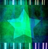 Priorità bassa verde di disegno grafico di struttura Fotografia Stock Libera da Diritti