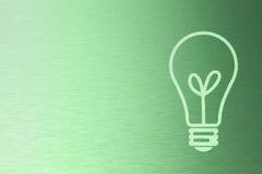 Priorità bassa verde di energia Immagini Stock