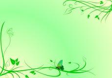 Priorità bassa verde di motivo Fotografia Stock Libera da Diritti