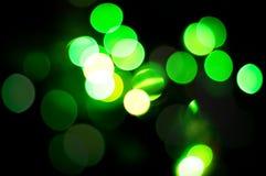 Priorità bassa verde di natale. Fotografia Stock