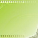 Priorità bassa verde di vettore Fotografie Stock