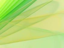 Priorità bassa verde e gialla elegante Fotografia Stock Libera da Diritti