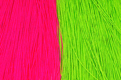 Priorità bassa verde e rossa del filetto Fotografia Stock