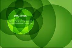 Priorità bassa verde fresca con il placeholder del testo Fotografia Stock
