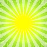 Priorità bassa verde-gialla astratta illustrazione vettoriale