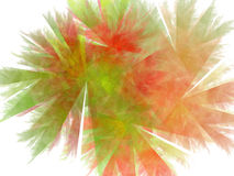 Priorità bassa verde rossa astratta Fotografie Stock