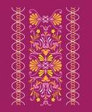 Priorità bassa viola decorativa Fotografia Stock