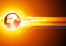 Priorità bassa alta tecnologia astratta Immagine Stock