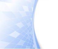 Priorità bassa alta tecnologia blu di vettore Fotografia Stock Libera da Diritti
