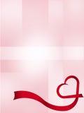 Priorità bassa astratta del `s del biglietto di S. Valentino Fotografie Stock