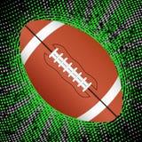 Priorità bassa astratta di football americano Immagini Stock