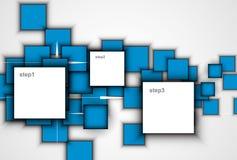 Priorità bassa astratta di tecnologia Interfaccia futuristica di tecnologia Vecto Fotografia Stock