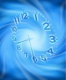 Priorità bassa astratta di tempo di orologio Immagini Stock