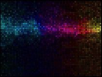 Priorità bassa astratta multicolore della discoteca Fotografie Stock