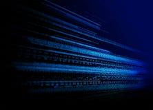 Priorità bassa binaria di tecnologia Immagini Stock