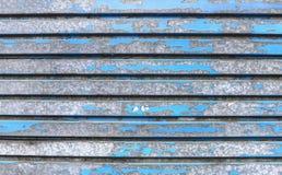Priorità bassa blu del metallo Fotografie Stock Libere da Diritti