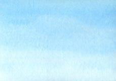 Priorità bassa blu dell'acquerello Fotografia Stock Libera da Diritti