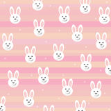 Priorità bassa con i coniglietti Immagini Stock Libere da Diritti