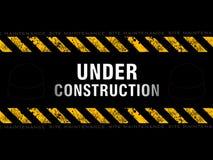 Priorità bassa in costruzione astratta Immagine Stock