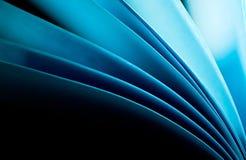 Priorità bassa del documento blu Fotografia Stock