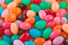 Priorità bassa del fagiolo di gelatina Fotografia Stock Libera da Diritti