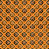 Priorità bassa del reticolo del batik nel vettore Fotografie Stock Libere da Diritti