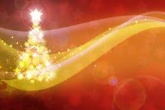 Fondo astratto del nuovo anno Immagine Stock