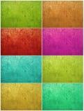 Priorità bassa dell'intonaco lavata vernice variopinta Fotografia Stock Libera da Diritti