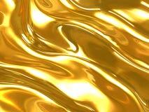 Priorità bassa dell'oro Fotografia Stock