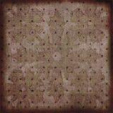 Priorità bassa della Boemia floreale dell'album della tappezzeria di Grunge dell'annata Fotografia Stock Libera da Diritti