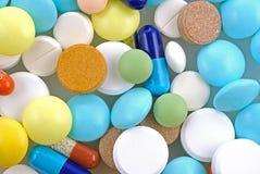 Priorità bassa della farmacia Fotografia Stock