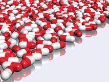 Priorità bassa della farmacia Fotografie Stock Libere da Diritti
