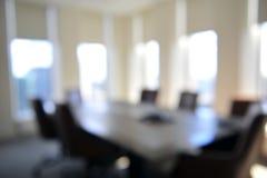 Priorità bassa della sala per conferenze vaga Immagini Stock Libere da Diritti