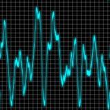 Priorità bassa della vibrazione sonora Fotografia Stock Libera da Diritti