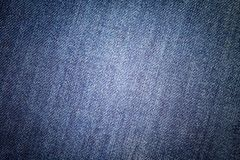 Priorit? bassa delle blue jeans Struttura classica del denim Superficie dell'abbigliamento di modo fotografie stock libere da diritti