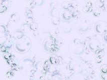 Priorità bassa delle bolle Fotografia Stock