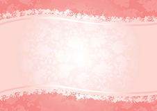 Priorità bassa delle rose dei biglietti di S. Valentino Fotografie Stock