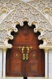 Priorità bassa di architettura islamica del particolare Fotografia Stock Libera da Diritti